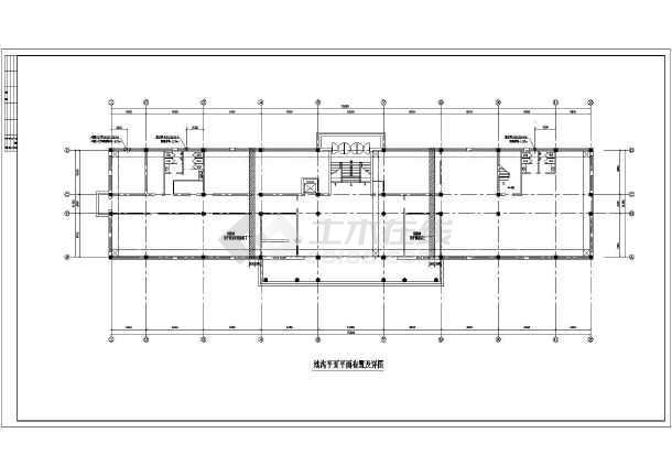 某框架结构培训鉴定综合楼结构设计施工图