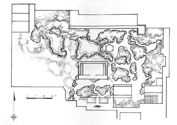 中国古典园林图