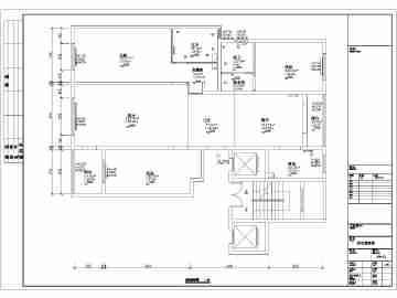 三室一厅两卫平面图