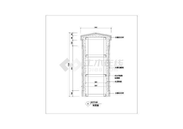 各种类型扶手栏杆建筑构造大样详图