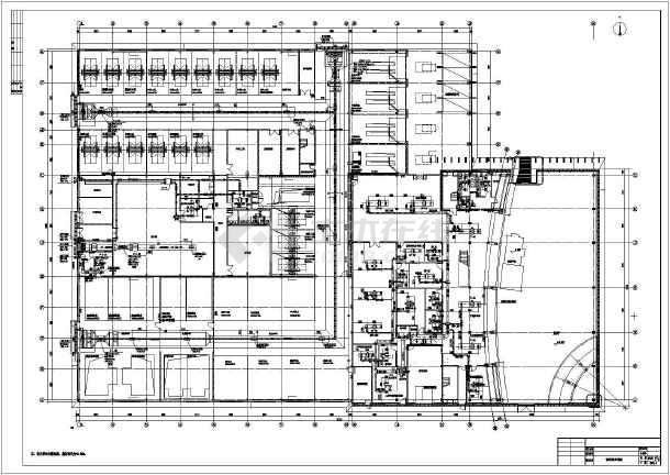 奥迪4s店设计奥迪汽车4s店设计平面图4s店施工图奥迪4s店平面图奥迪汽