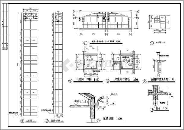 某地6层砖混结构住宅楼建筑设计施工图