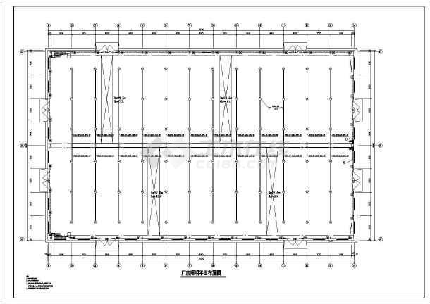 宜春某1层钢结构厂房电气设计施工图