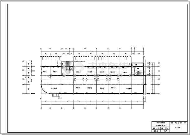 某8层办公楼设计图图片
