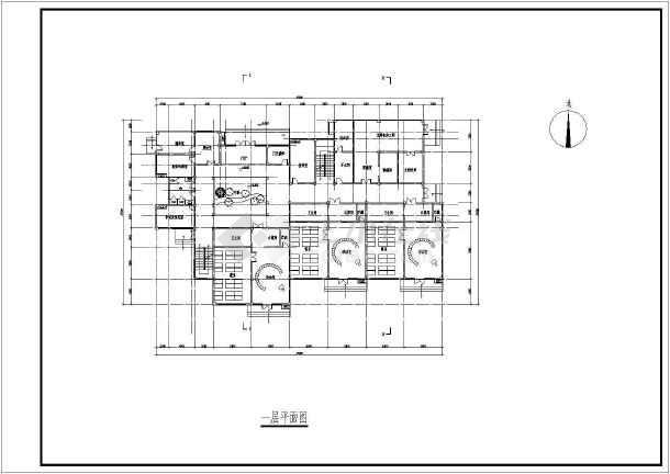【南昌】某3层9班幼儿园建筑设计方案图片