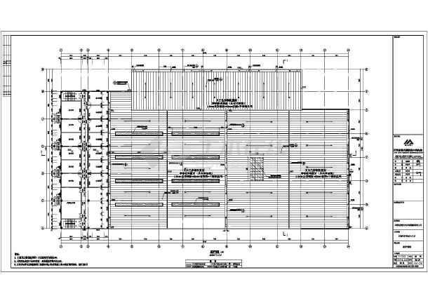 【南昌】2層框架,鋼結構汽車銷售及維修車間建築設計施工圖紙