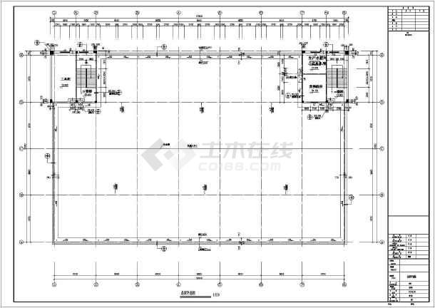 东莞某五层混凝土框架厂房建筑结构施工图(cad图纸下载)