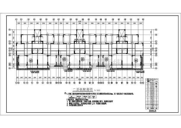 6度区16层框支剪力墙结构住宅结构施工图