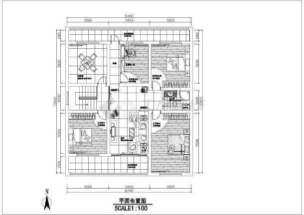 某园区室内装修设计cad图纸_cad图纸下载苏州档案馆介绍信图纸套房调档图片