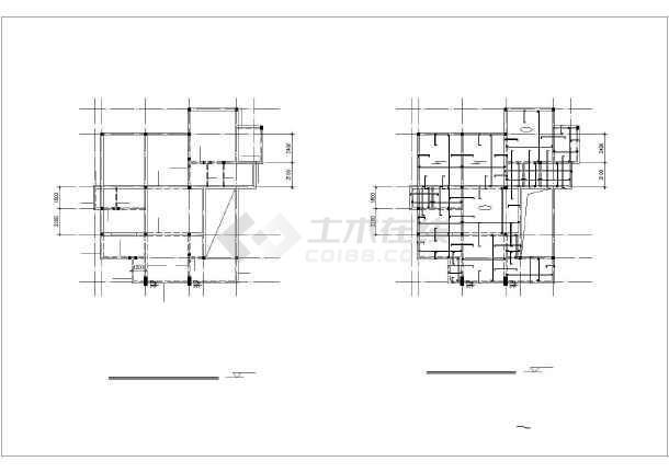 【河南】某地农村别墅建筑设计施工图