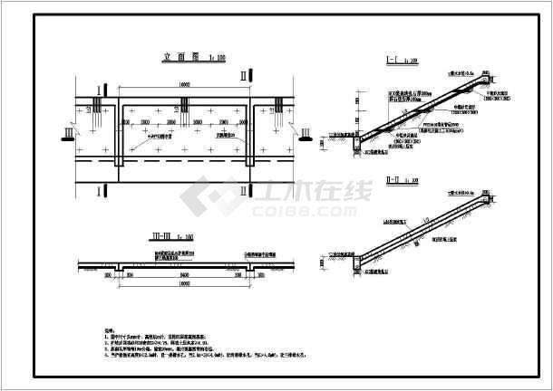 简单实用的砌石图纸护坡CAD河岸_cad图纸下cad2014多大图片