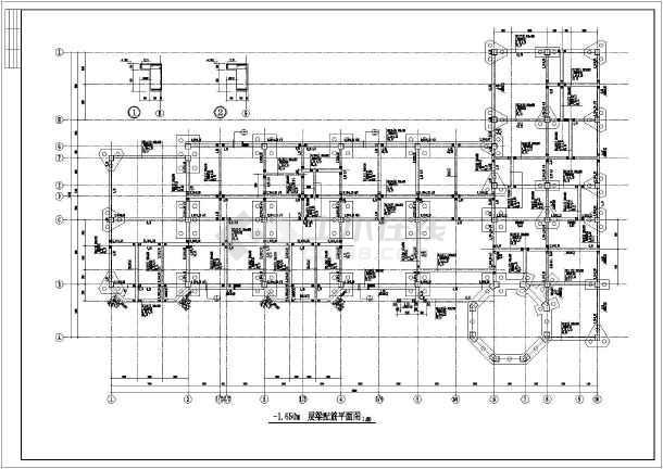 某三层幼儿园框架结构设计施工图纸