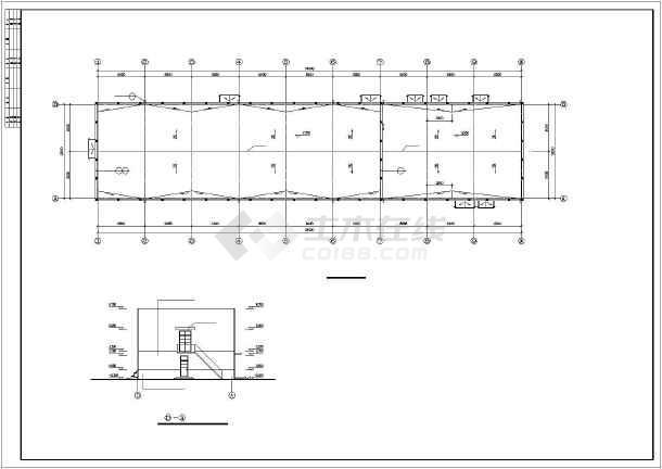 某地2层框架配电所建筑设计施工图