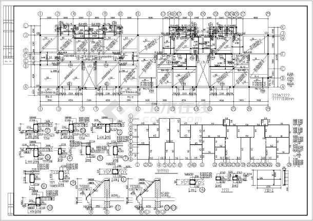 某地六层砖混结构住宅楼结构施工图
