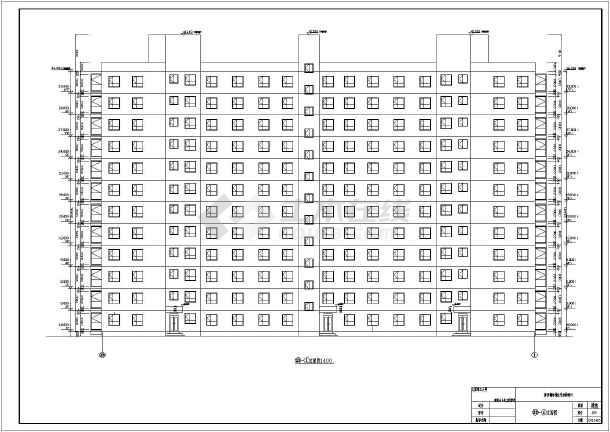 采用钢结构,图纸内容包含:建筑设计说明,各层平面图,屋顶平面图,立面