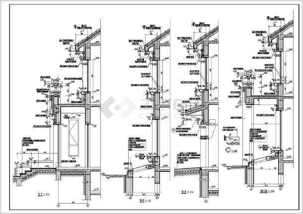 方城市2层砖混方案结构别墅建筑长度图(cad图cad点划线的双拼规定如何图片