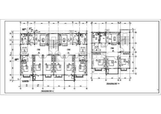 某六层住宅建筑给排水设计图