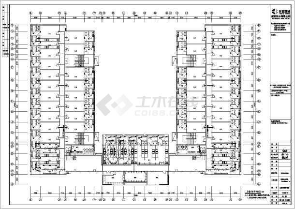 某职业学院五层砌体结构学生公寓全套结构施工图纸