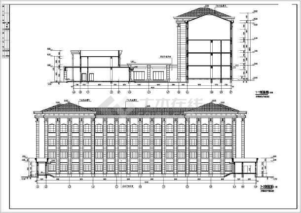 各层平面图,屋顶平面图,各立面图,各剖面图,楼梯详图,墙身大样,厨房
