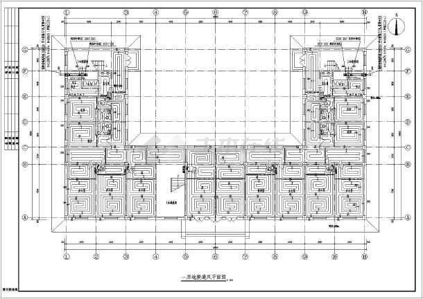 【陕西】某办公楼图纸v图纸施工图_cad图纸下a4纸怎么打印cad地暖图片
