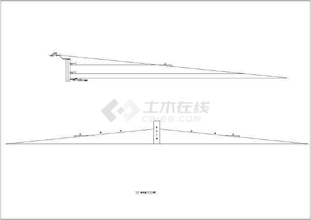 图纸 建筑结构图 地基基础图纸 基坑支护图纸 大型基坑排桩 2道内支撑