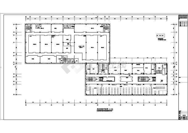 【南京】某图纸大楼给排水v图纸工程图_cad图revit以cad科研翻模图片