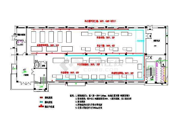 某厂房工程结构平面设计图(共4张)图片