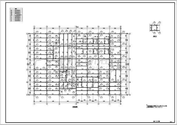 某地多层钢结构厂房建筑设计施工详图