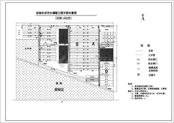 果园中心设施农业节水灌溉工程设计