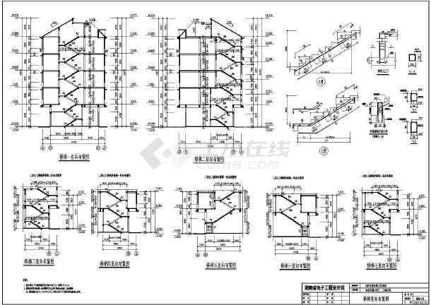 长沙市五层底框结构住宅楼结构施工图