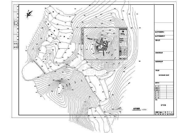 福建某森林公园木石结构八角亭建筑结构施工图