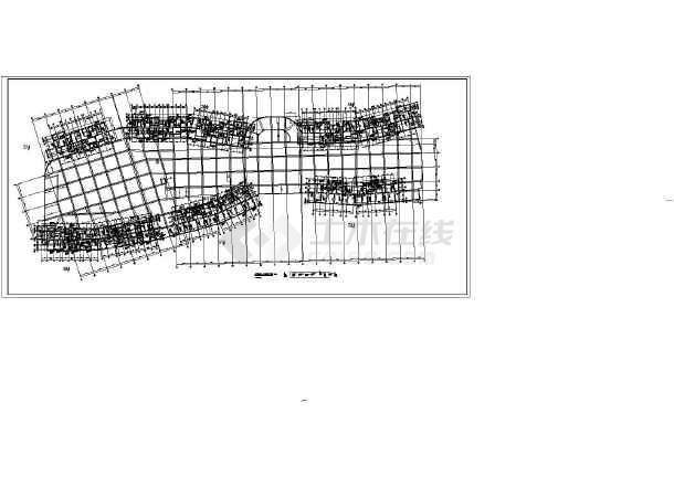 某项目地下车库空心楼盖结构施工图_cad图纸下载 ...