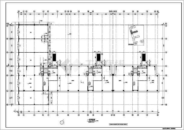 湖北某地小高层住宅楼建筑及结构施工图纸