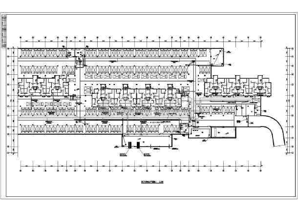 某地经典地下车库电气全套设计图纸