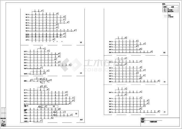 五星级酒店电气设计说明系统图及弱电系统参考模版图片