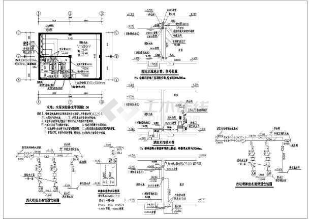 地下消防水池设计