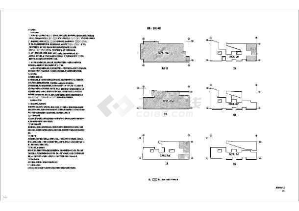 某五层少年宫钢筋混凝土框架结构建筑设计施工套图纸