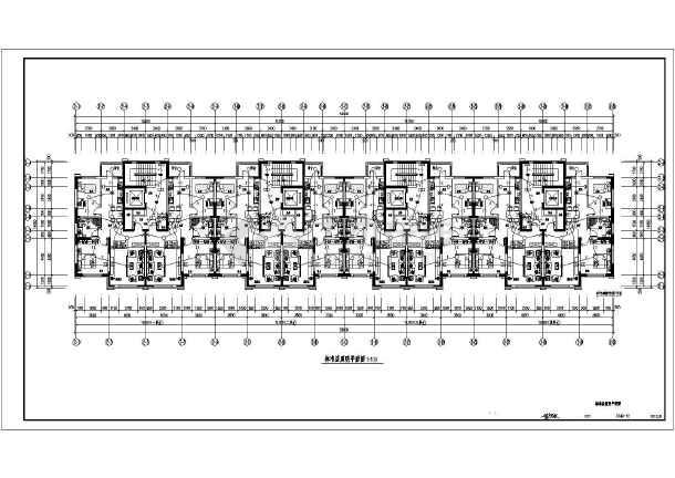 某十七层住宅全套电气设计图纸(带地下车库)