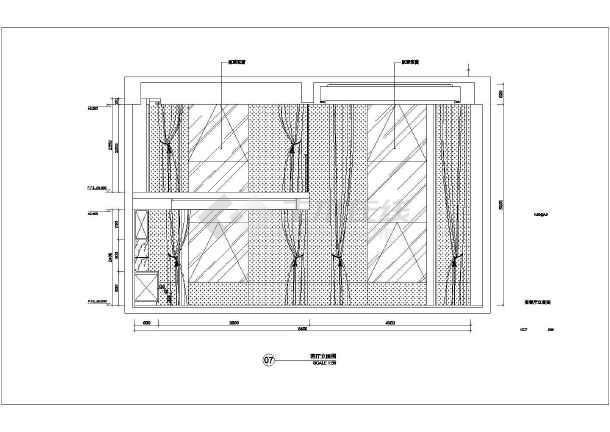 【南京】某现代图纸LOFT样板房四居室装修施天尊报风格图片