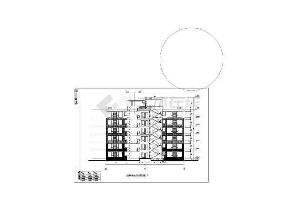 某地区多型多层住宅建筑施工设计图