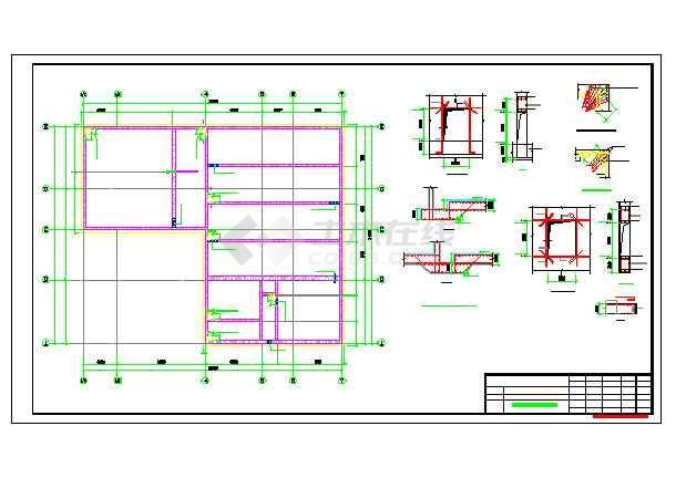 某地食品厂污水处理结构施工图
