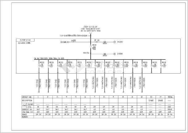 低压电气原理图   共1张立即查看 电缆管电缆井及盖板铁塔单线图及