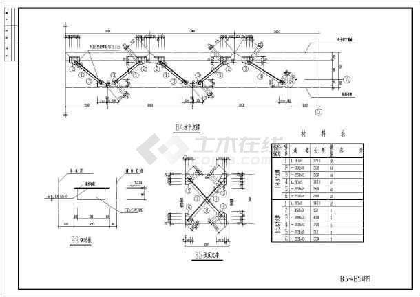 山东某单跨轻钢屋架结构厂房方案图