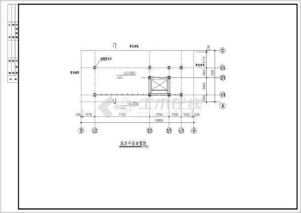 某多套钢结构观光电梯井设计施工图图片