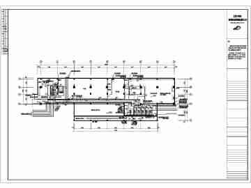 某地体育馆建筑给排水全套施工设计图