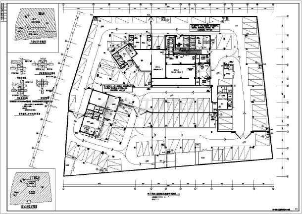 某13层酒店给排水及消防平面图及系统原理图