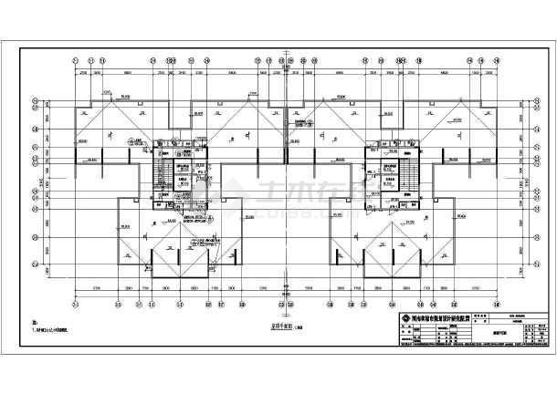 30层剪力墙结构住宅楼建筑施工图_cad图纸下开智6412图纸最新图片