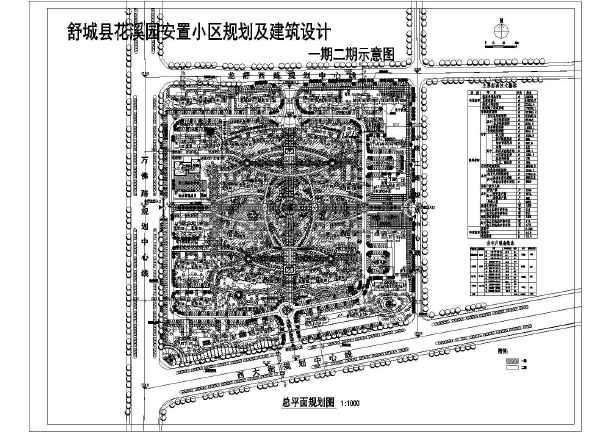 图纸主要内容包含:住宅小区,商业建筑,幼儿园建筑,物业建筑,休闲场所
