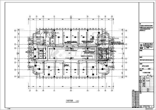 某碧海办公楼建筑高层v碧海水电图纸全套捞航线图纸图片
