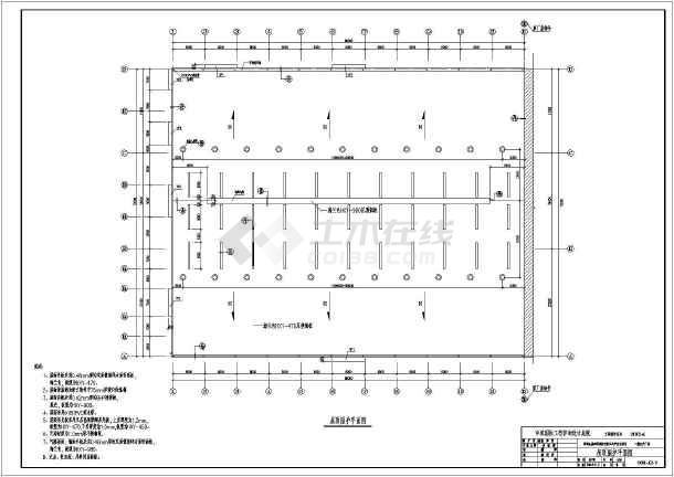 一套完美的钢结构厂房图纸